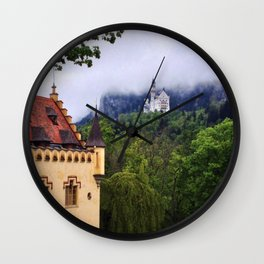 Hohenschwangau Wall Clock