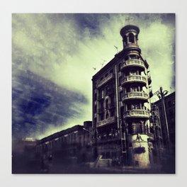 Torre Poble Nou Canvas Print