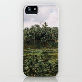 Bali Tegalalang II , Indonesia iPhone Case