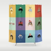 ponyo Shower Curtains featuring Miyazaki's World. by Jarvis Glasses