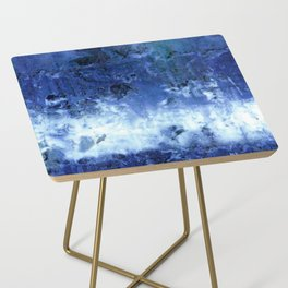 Saltwater Silk Blue Side Table