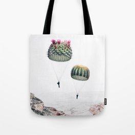 Flying Cacti Tote Bag