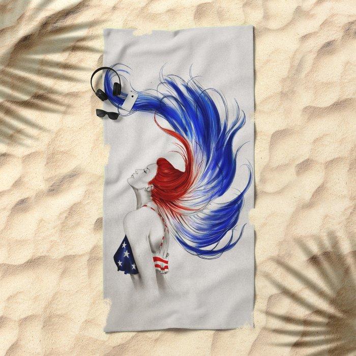 .Liberty Beach Towel