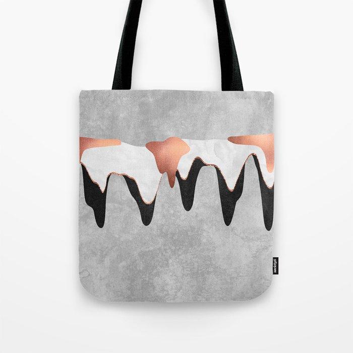 Pretty Color Drip 2 Tote Bag