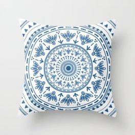 Persian folk Throw Pillow