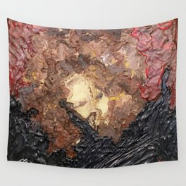 The Velvet Rope Abstract Wall Tapestry