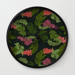 Velo de Flor Wall Clock