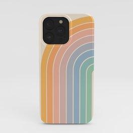 Gradient Arch - Rainbow III iPhone Case