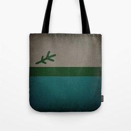 Labrador Flag Dark Tote Bag