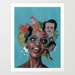 Baltimore Girl Art Print