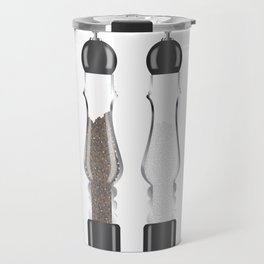 Glass Salt And Pepper Travel Mug