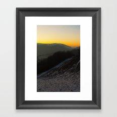 Once up on an east Framed Art Print