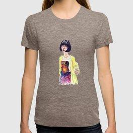 Fashion Illustration . Oriental Girl T-shirt