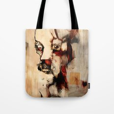 Portrait of a Distracted Man Tote Bag