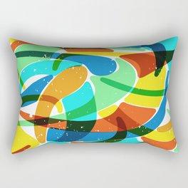 Friendly Chaos Rectangular Pillow