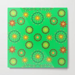 Star pattern3 Metal Print