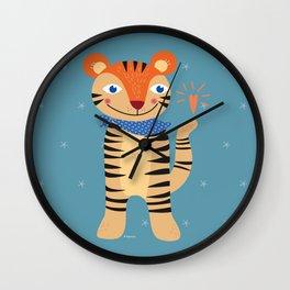 Little Tiger Wall Clock