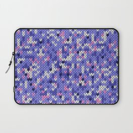Knitted multicolor pattern 6 Laptop Sleeve
