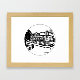UT BOX SET/1 van sijpensteijnkade Framed Art Print