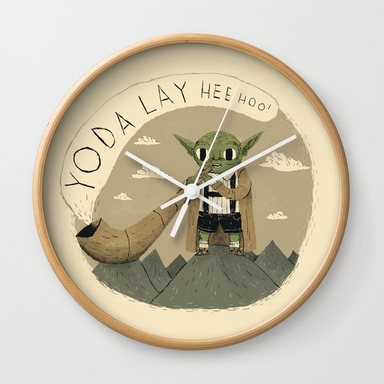 yodaling  Wall Clock
