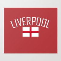 liverpool Canvas Prints featuring Liverpool by Earl of Grey