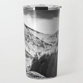 Lonely Mountain Road Travel Mug