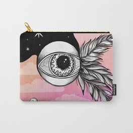 Flying Eyeball Carry-All Pouch
