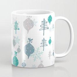Christmas white ornaments Coffee Mug