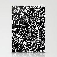 zentangle Stationery Cards featuring Zentangle by Maria Gracia