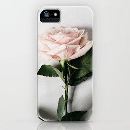 Minimalist Rose iPhone Case