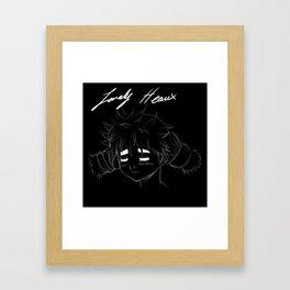 Lonely Heaux  Framed Art Print