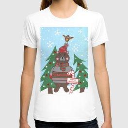 Have A Beary Nice Christmas T-shirt