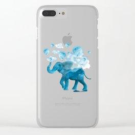 Elephant XIX Clear iPhone Case