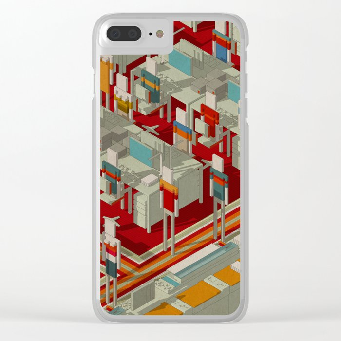 Habitat 29 Clear iPhone Case