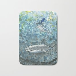 Feeding Frenzy Bath Mat