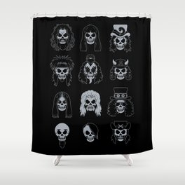Metalheads Shower Curtain