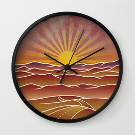 Take me home country roads Wall Clock