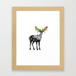 Fallow deer Framed Art Print