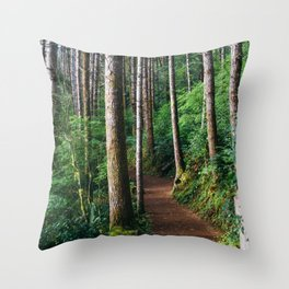 Trees: III // Oregon Throw Pillow