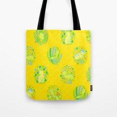 Picnic Pals animals in citrus Tote Bag