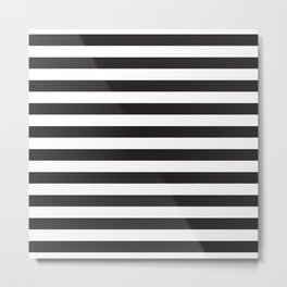 ALWAYS STRIPES Metal Print