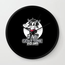 Funny Goat Lovers Best Gift Wall Clock