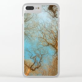 High up in the early  fresh Spring Air Clear iPhone Case