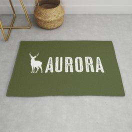 Deer: Aurora, Colorado Rug