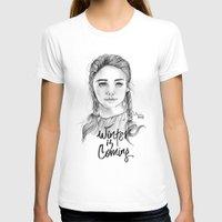 arya stark T-shirts featuring Arya stark by Nicolaine