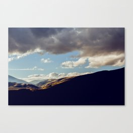 Darkness Comes To The Grapevine Canvas Print