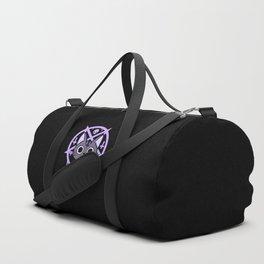 Black Meowgic 03 Duffle Bag