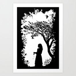 The Tale of the Juniper Tree Art Print