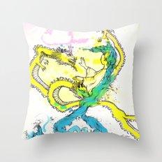 Dragon Whisperer Throw Pillow