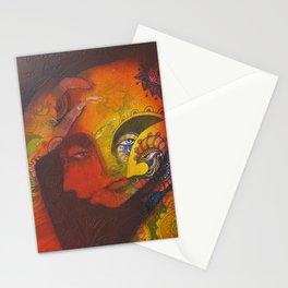 Estudio de un rostro Stationery Cards